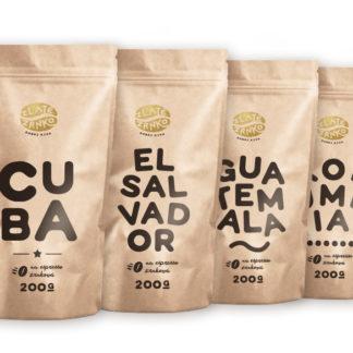 Zlaté Zrnko - kávy s pôvodom