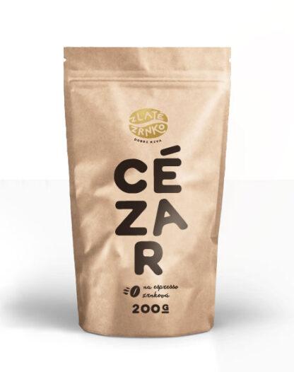 """Káva Zlaté Zrnko - Cézar (Zmes arabiky 75% a robusty 25%) """"KLASICKÝ"""""""