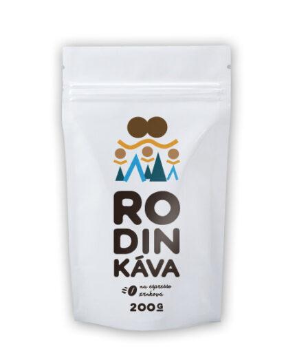 Káva RodinKáva (Zmes arabica 50% a robusta 50%) 200g/500/1000
