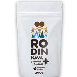 Káva RodinKáva Plus (100% arabika od jedného farmára) 200g/500/1000