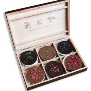 Lyra čokoláda - Mandala drevený box 288g