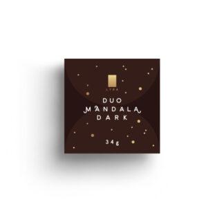 Lyra čokoláda - Duo Mandala Dark 35g
