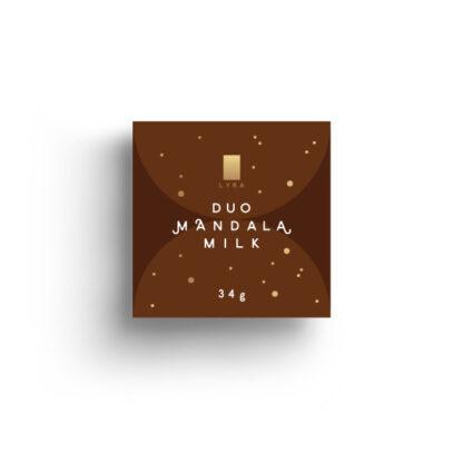 Lyra čokoláda - Duo Mandala Milk 35g