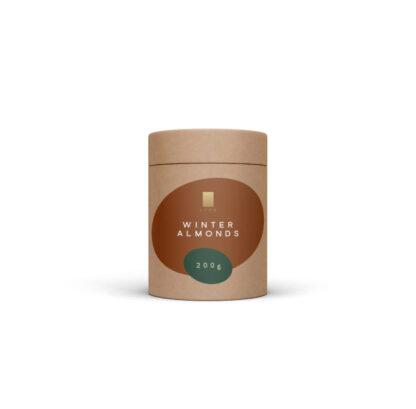 Lyra čokoláda - Winter Almonds - mandle v mliečnej čokoláde a škorici 200g