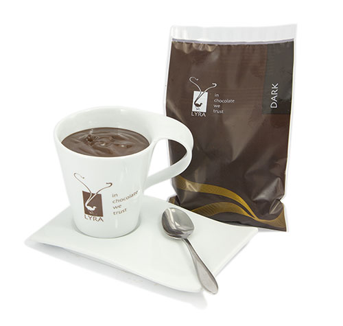 Lyra čokoláda - Horúca čokoláda Dark gastro porciovaná 1500g