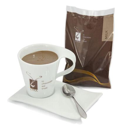 Lyra čokoláda - Horúca čokoláda Milk gastro porciovaná 1500g