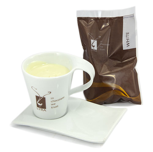 Lyra čokoláda - Horúca čokoláda White gastro porciovaná 1500g