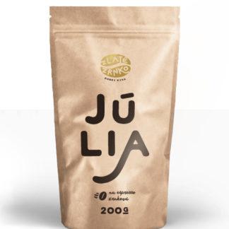 """Káva Zlaté Zrnko - Júlia (Zmes arabica - 100%) """"PESTRÁ"""""""