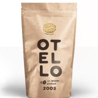 """Káva Zlaté Zrnko - Otello (Zmes arabica 65% a robusta 35%) """"HORKÝ"""""""