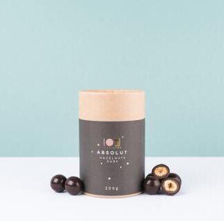 Lyra čokoláda - Absolut Hazelnuts Dark - Absolútny lieskovec tmavý 200g