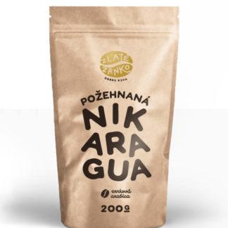 "Káva Zlaté Zrnko - Nikaragua ""POŽEHNANÁ"""