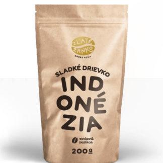 """Káva Zlaté Zrnko - Indonézia """"Sladké drievko"""""""
