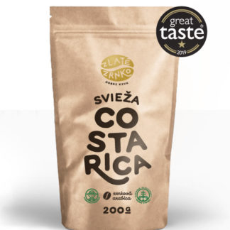 """Káva Zlaté Zrnko - Costa Rica - """"SVIEŽA"""""""