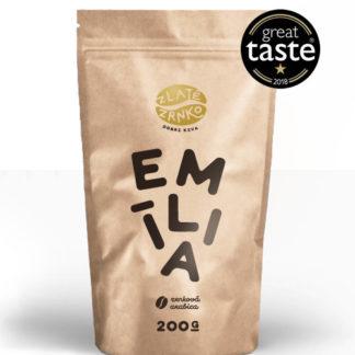 """Káva Zlaté Zrnko - Emília (Zmes 100% arabica) """"VYVÁŽENÁ"""" - NAJPREDÁVANEJŠIA"""