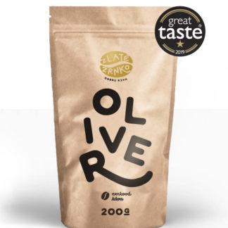 """Káva Zlaté Zrnko - Oliver (Zmes arabica 90% a robusta 10%) - """"LAHODNE HORKÝ"""""""