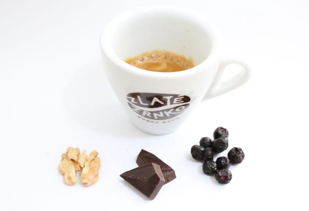 chuť kávy